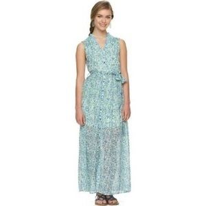 Alice Through The Looking Glass Floral Maxi Dress